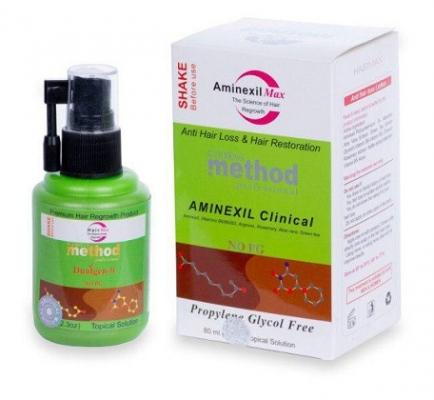 محلول تقویت کننده و ضد ریزش مو متد